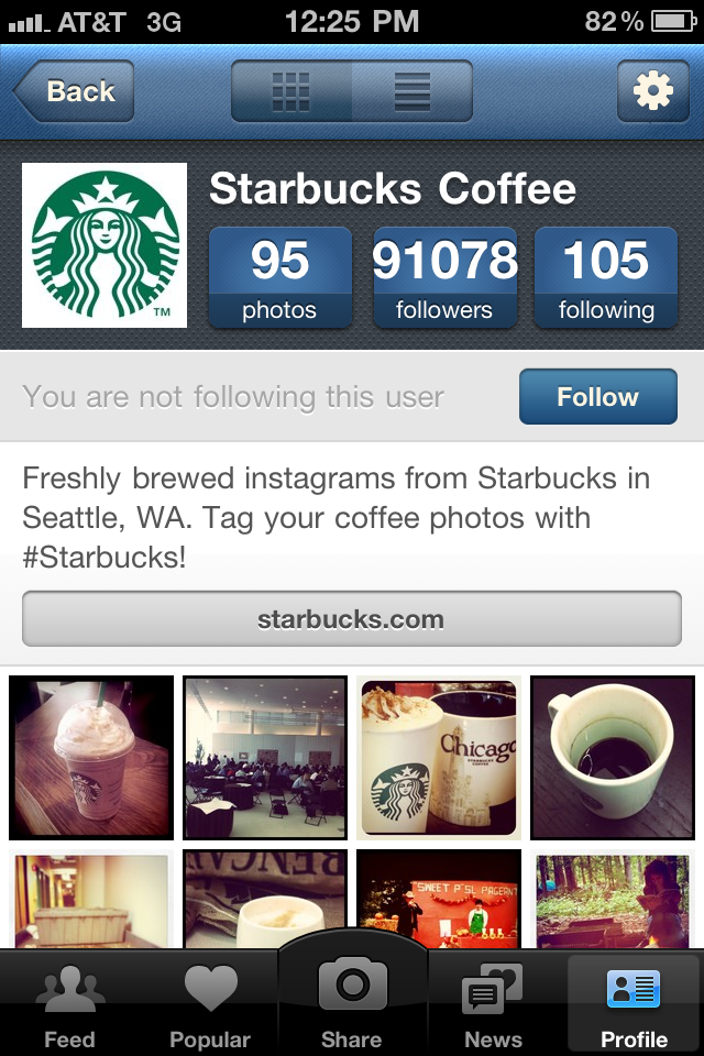 Image result for instagram starbucks