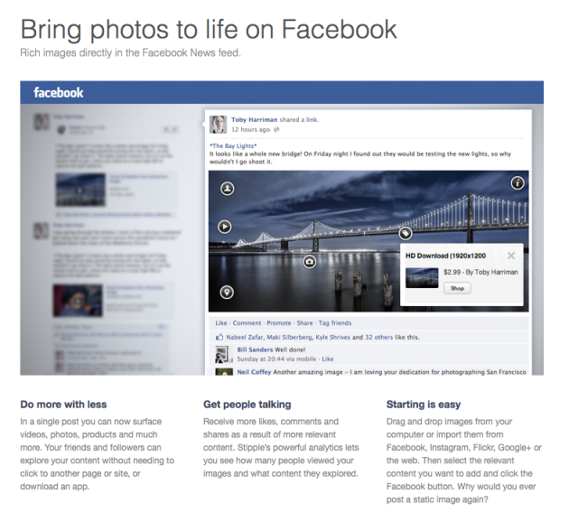 Stipple Facebook Overview