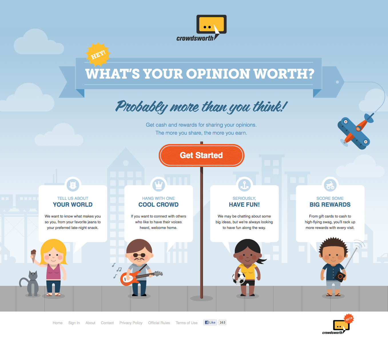 examples of mobile landing pages | BlackFin360 – Digital Thought ...