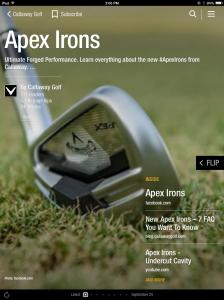 Callaway Apex Irons Magazine