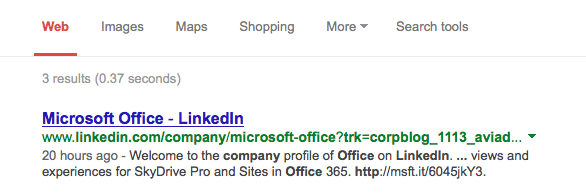 Linkedin Office Search