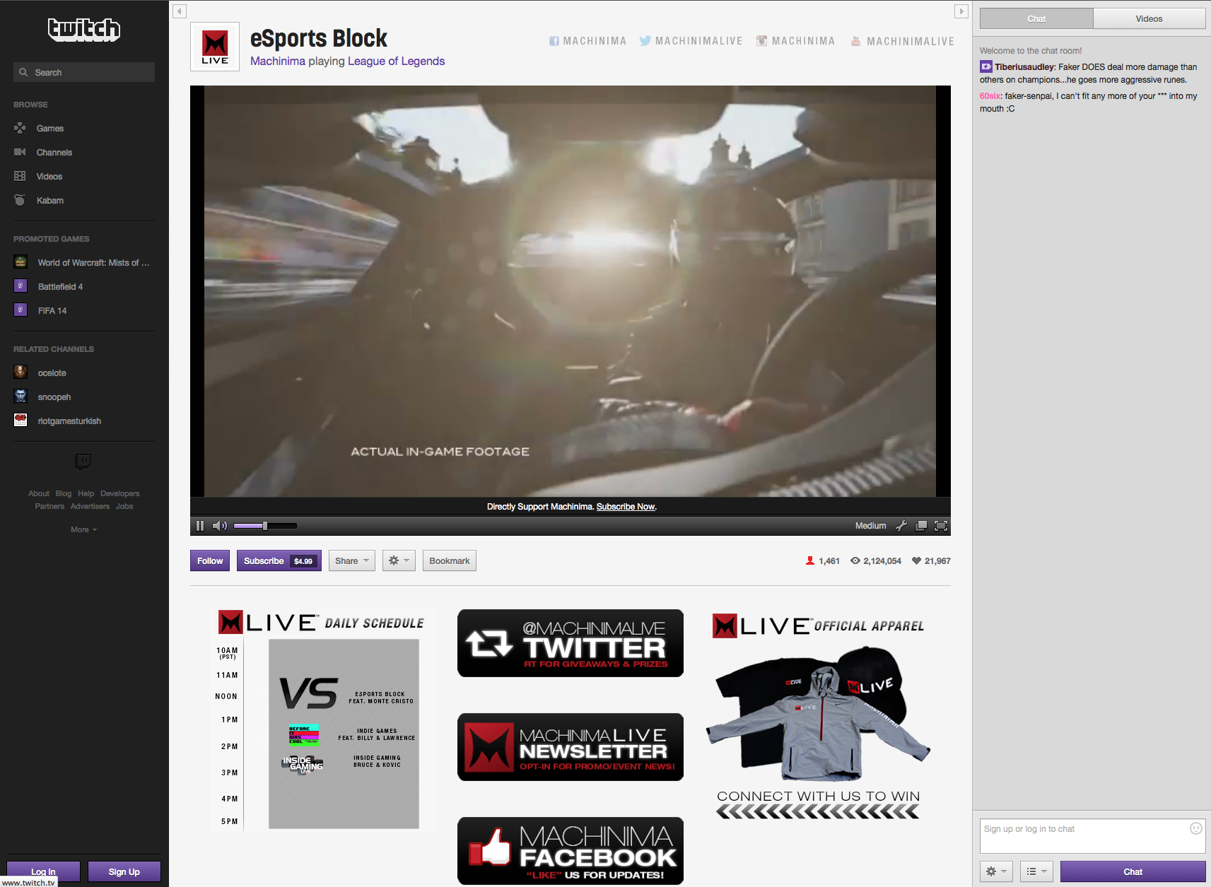 2) Advertising – Twitch offers multiple advertising opportunities in the  form of traditional video (pre-roll) and display, event based advertising.  custom ...