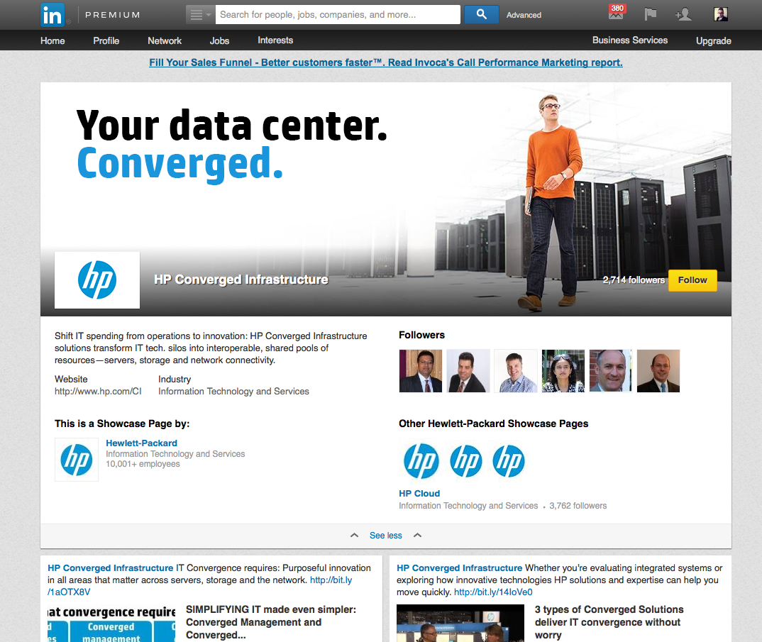 Linkedin Showcase Pages Create New Points of Discovery BlackFin360 - Innovation To Reality
