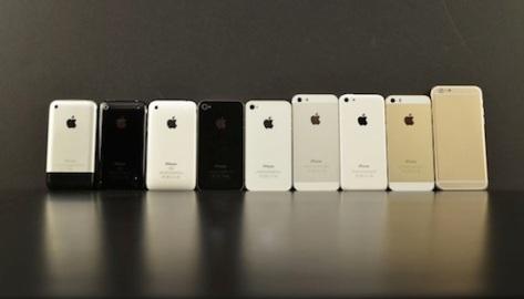 Apple-iPhone-generations