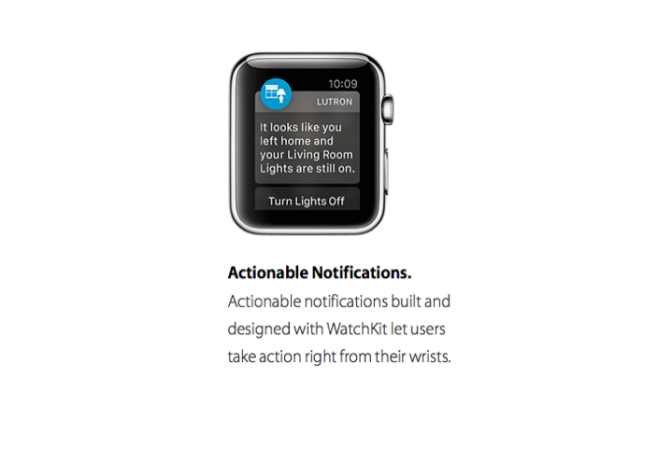 Going Beyond the App with Actionable Notifications