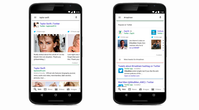 Google and Twitter Alliance = Mobile Relevance
