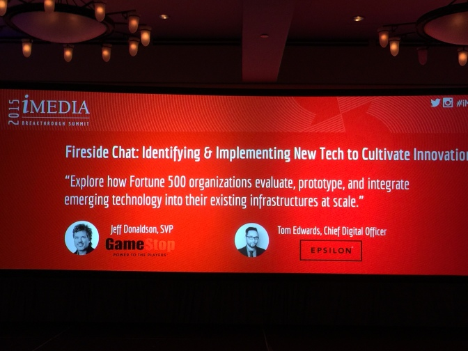iMedia Breakthrough Summit 2015