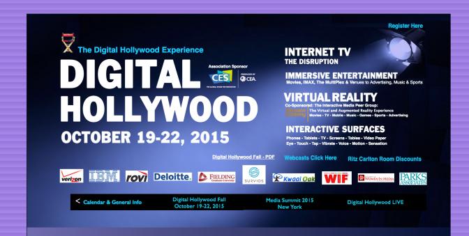Digital Hollywood 2015