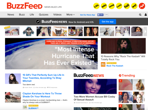 Buzzfeed contextual opt-in