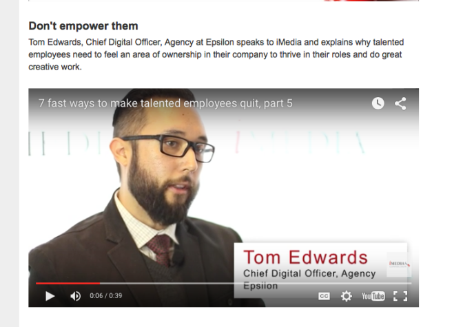 Retaining Talent & Empowering Employees