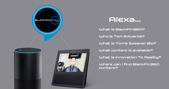 BlackFin360 on Amazon Alexa