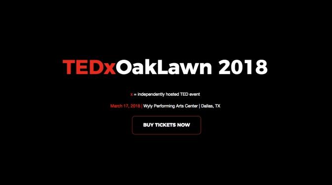 TEDx Oaklawn 2018